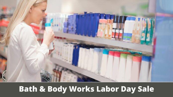 Bath & Body Works Labor Day Sale