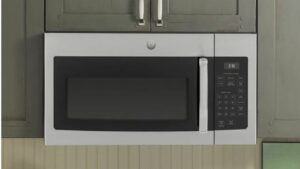 GE Over-the-Range Microwave in Stainless Steel
