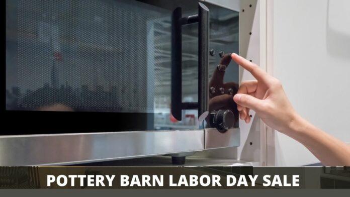 POTTERY BARN LABOR DAY SALE