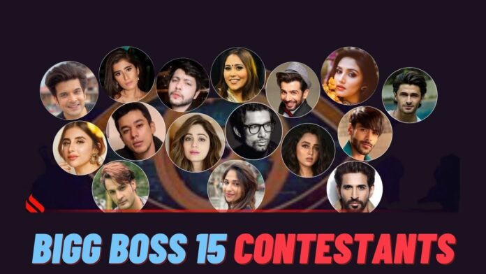 Bigg Boss 15 Contestant Name List With Photos & Social Profiles