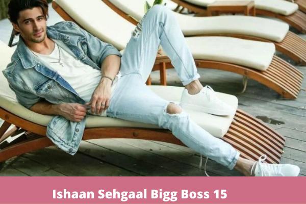 Ishaan Sehgaal bigg boss 15