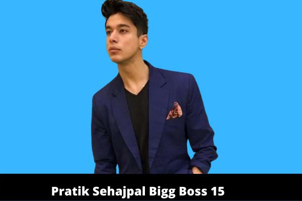 Pratik Sehajpal Bigg Boss 15