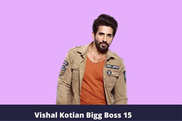 Vishal Kotian Bigg Boss 15