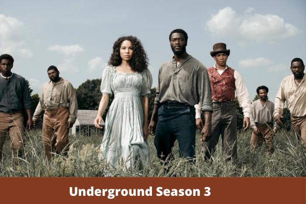 Underground Season 3